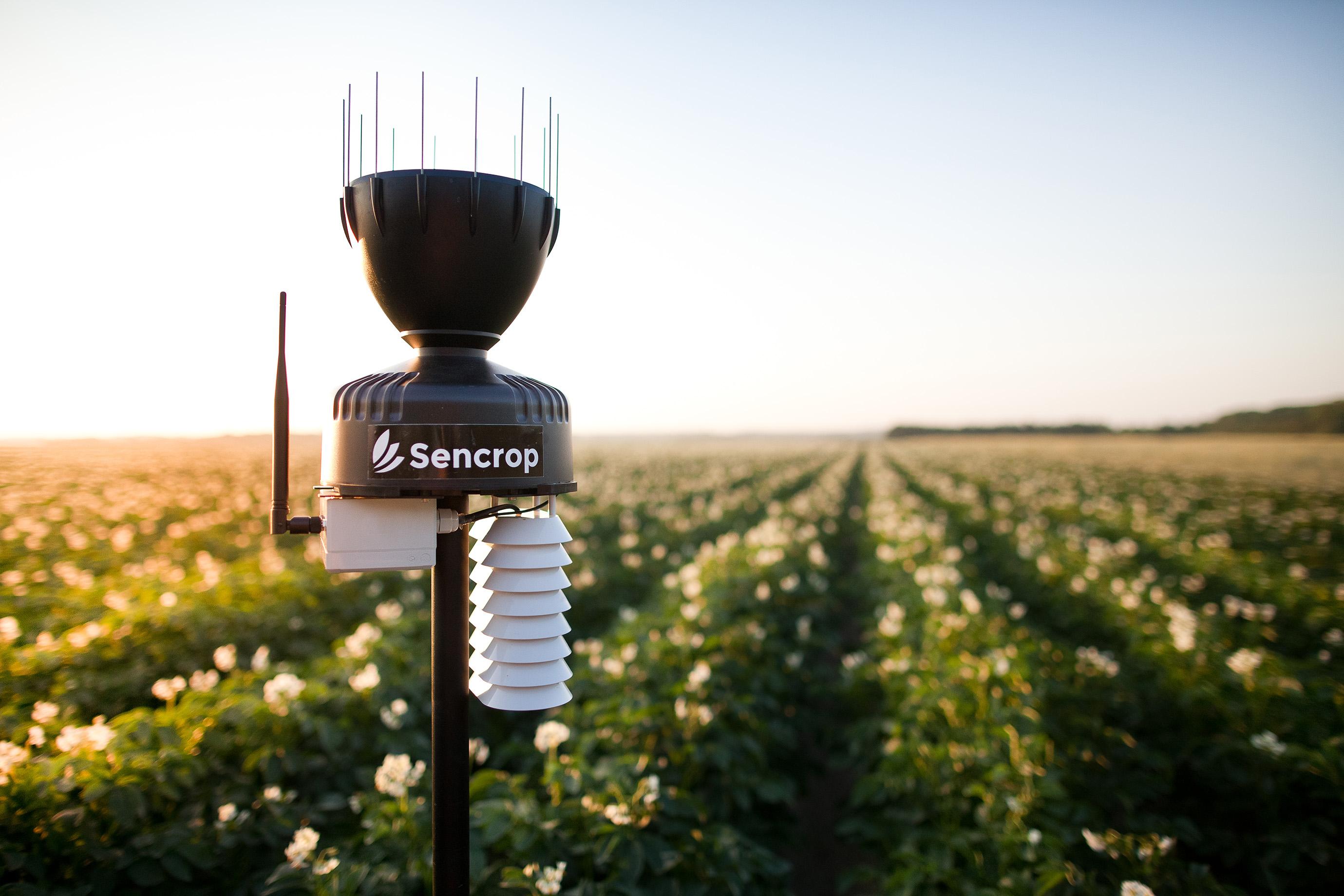 Avec Sencrop, la Métropole Européenne de Lille teste la météo en temps réel auprès  d'un panel d'agriculteurs du territoire.