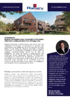 2018_11_24 Ramery immobilier_Communiqué de presse Arboream