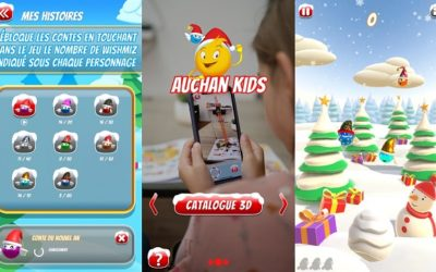 Innovation – Auchan Retail embarque ses clients dans la magie de Noël