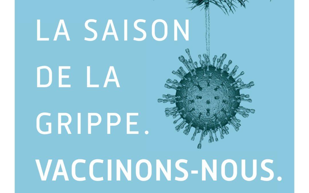 Ne laissons pas la grippe nous gâcher l'hiver