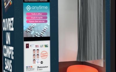 Photomaton® transforme ses cabines en agences bancaires avec Anytime