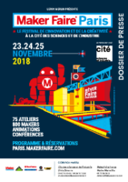 Maker Faire Paris 2018 – Dossier de Presse
