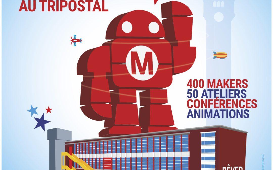 Maker Faire Lille : une 3ème édition au Tripostal
