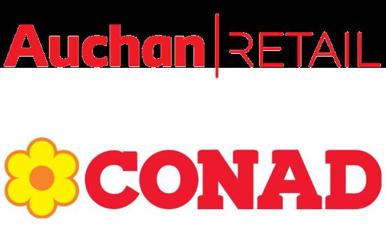 Auchan Retail cède sa filiale italienne à Conad