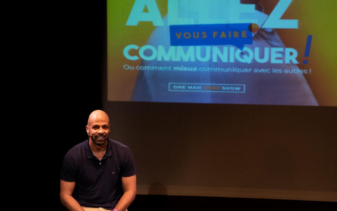 Allez vous faire communiquer ! Emmanuel Chila fait son one man conf ' show à l'Apollo Théâtre Paris mercredi 19 juin…