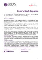 2019_22_10 CP_finalisation_prise_de_contrôle_BPCE_Oney_Bank FR