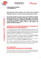 20191121_Communique presse TADAO