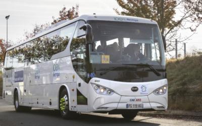 Mercredi 20 novembre, mise en service de deux cars  100% électriques sur la ligne Beauvais – Compiègne,  exploitée par Transdev Hauts-de-France