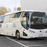 Inauguration du Bus 100  % électrique