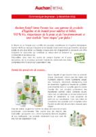 2019_12_03 Cosmia Bio en France – Auchan Retail