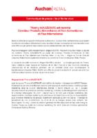 2020_02_17_Auchan Retail_CP Nomination de Thierry AOUIZERATE