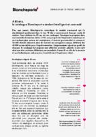 2020 02 24 Blancheporte – Commuiqué de presse catalogue BtoB