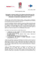 Communiqué Presse UNI x Auchan x Carrefour – 09.04.20