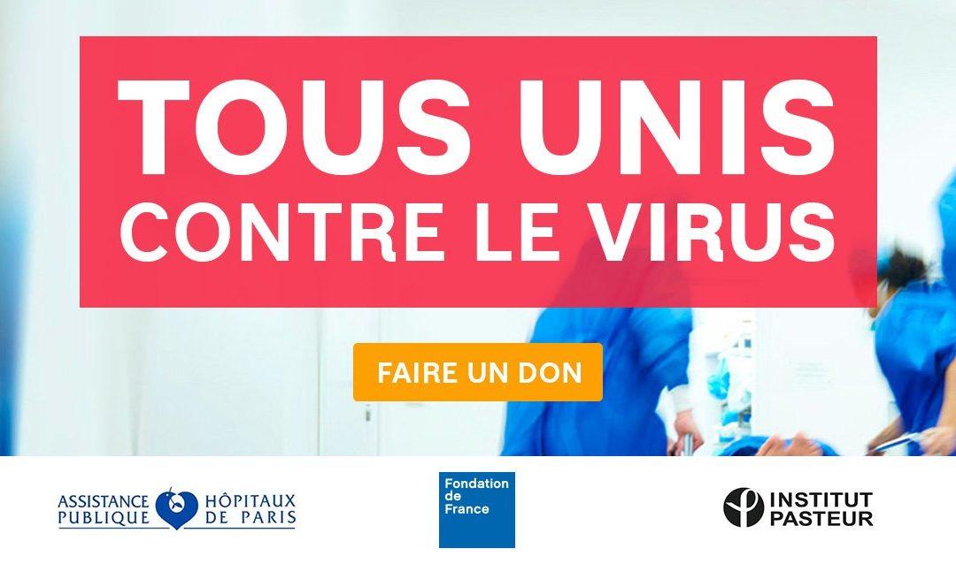 Tous unis contre le virus : les premières actions sur le terrain