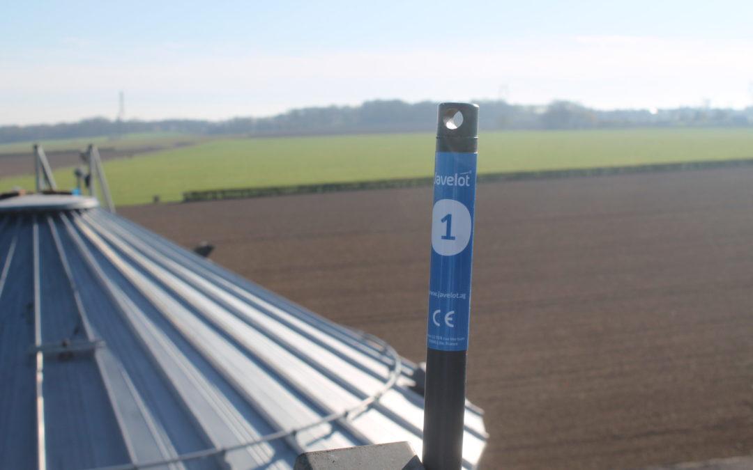 Avec sa solution de thermométrie connectée, Javelot accompagne RAGT dans l'optimisation de son stockage de grains