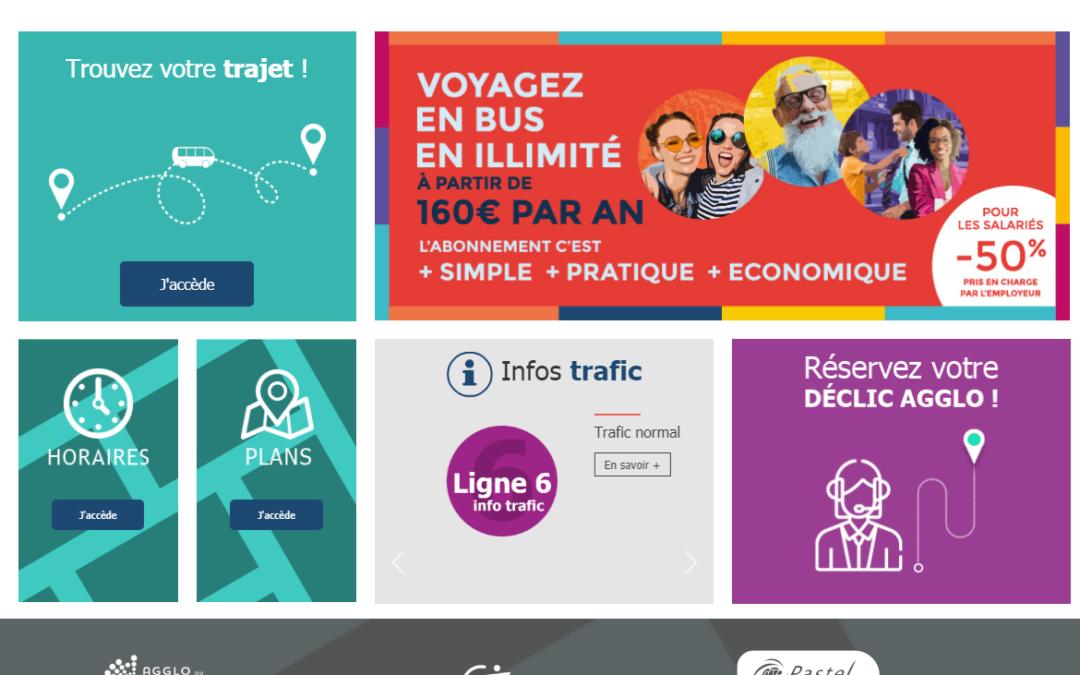 Avec son nouveau site web, le réseau Pastel facilite les déplacements des voyageurs