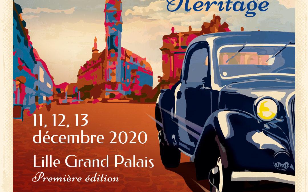 Le salon Lille Auto Héritage annonce sa première édition du 11 au 13 décembre 2020