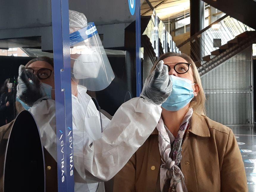 Synlab Hauts-de-France ouvre ce 16 octobre  une plateforme de prélèvements PCR au Zénith de Lille