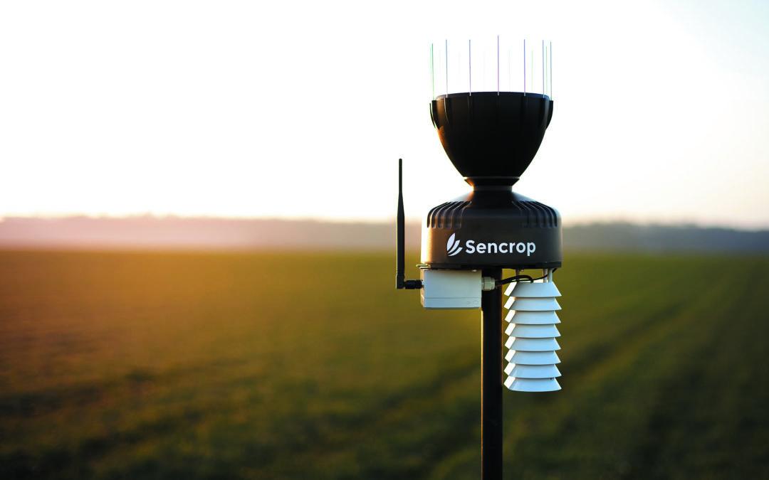 La Chambre d'agriculture de Haute-Saône fait le pari d'une agriculture collaborative et installe un réseau de 42 stations agro-météo connectées sur son territoire