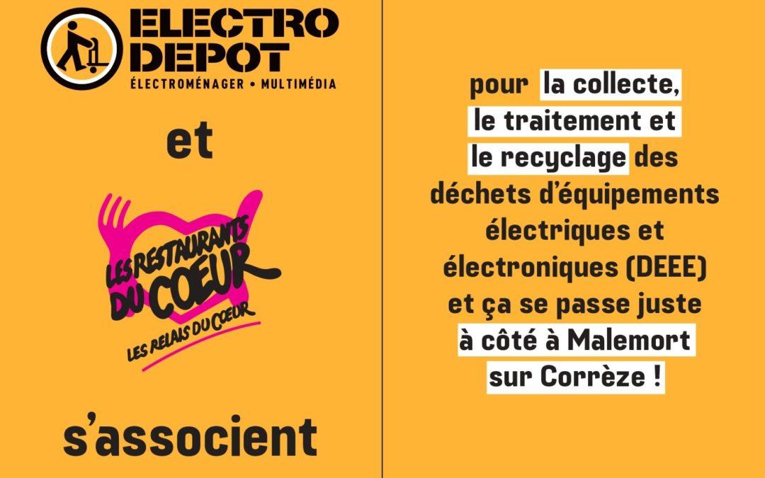 A Brive-la-Gaillarde, Electro Depot et les Restos du Cœur de Corrèze se mobilisent pour donner une seconde vie aux appareils électroménagers tout en favorisant l'insertion sociale