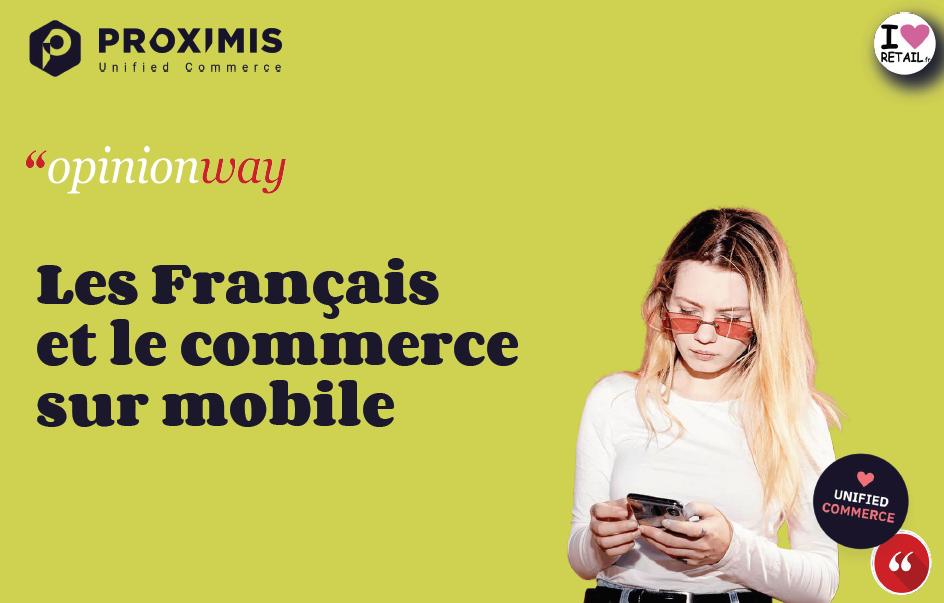 Etude – Mobile en main, les Français achètent partout, tout le temps…