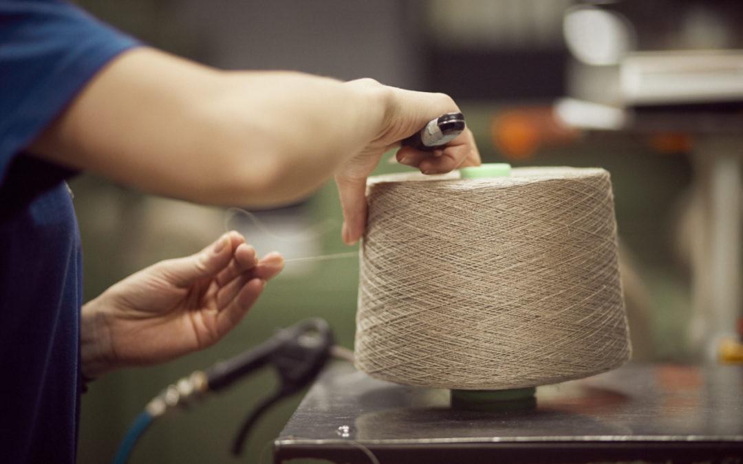 SAFILIN réimplante une unité de filature de lin dans les Hauts-de-France et fait revivre le fil de lin 100% français