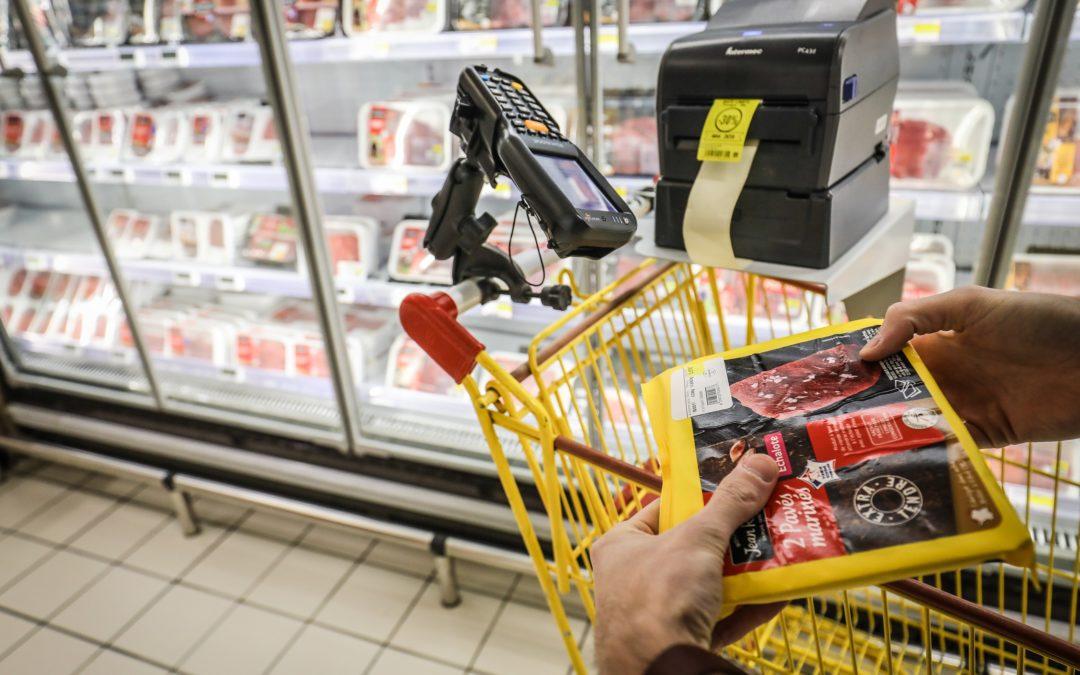 Avec Smartway, Intermarché Aubenas  lutte contre le gaspillage alimentaire et garantit le zéro périmé en rayon