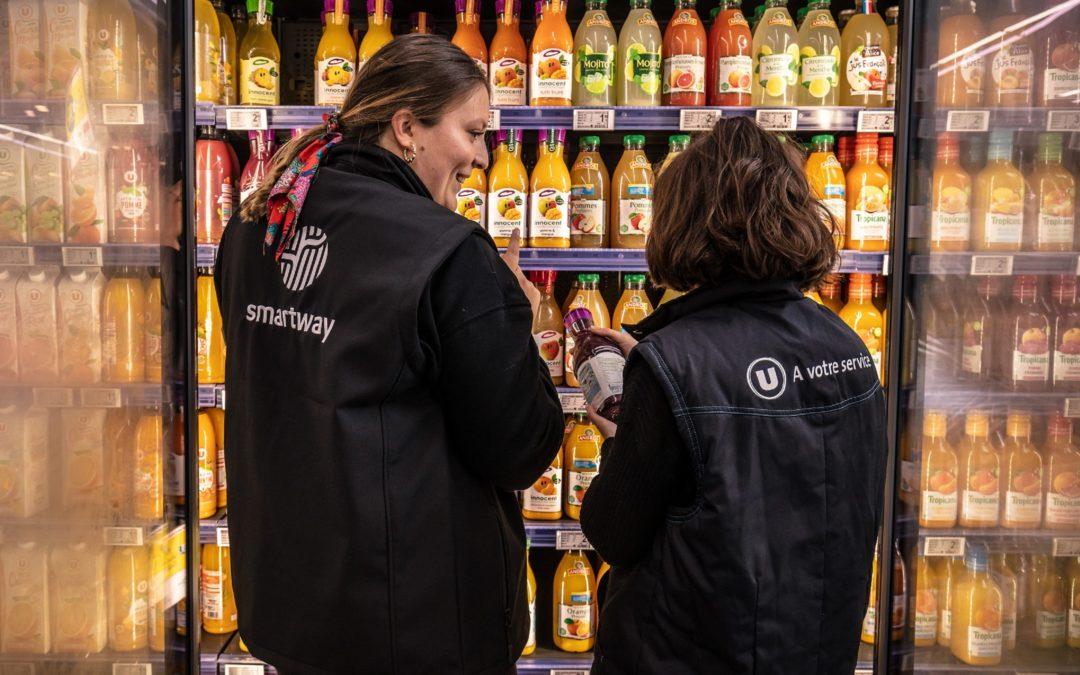 1/2 million de produits sauvés et 440 000 € d'économies consommateurs en 5 ans : la lutte anti gaspi du  E.Leclerc Plougastel porte ses fruits avec Smartway