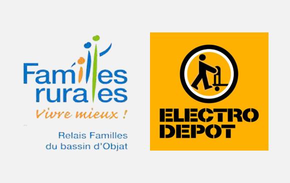 Samedi 3 juillet, à Brive, le Relais Familles d'Objat et Electro Dépôt organisent un atelier repair café
