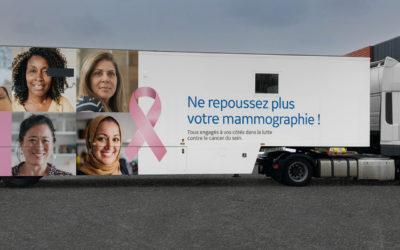 Octobre Rose – GE Healthcare part à la rencontre des Franciliennes avec son unité mobile de dépistage